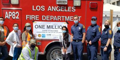 Mayor Garcetti announces one million vaccine doses administered at City sites